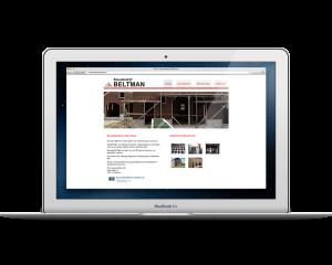Website Bouwbedrijf Beltman