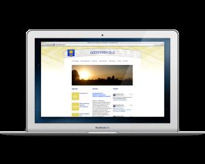 Website Geesterens Belang